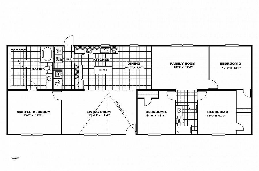 1999 Redman Mobile Home Floor Plans 1997 Champion Mobile Home Floor Plan