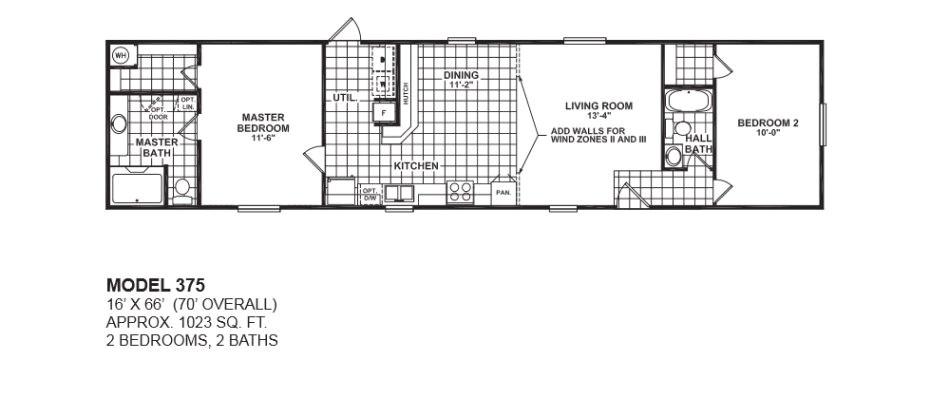 2 bedroom 2 bath single wide mobile home floor plans for great 2 bedroom mobile home floor plans