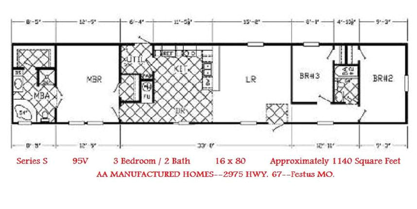single wide trailer home floor plans