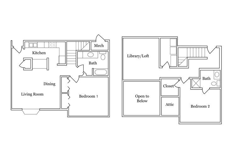 colonial apartments floor plans