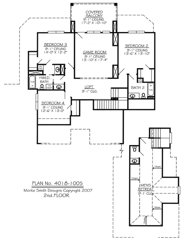 house plans loft bedrooms