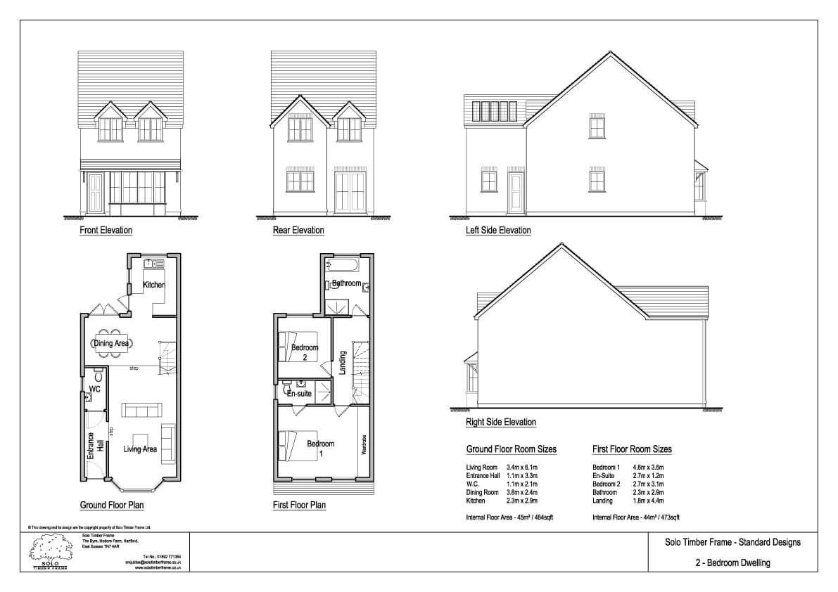 townsend 2 2 bedroom house design