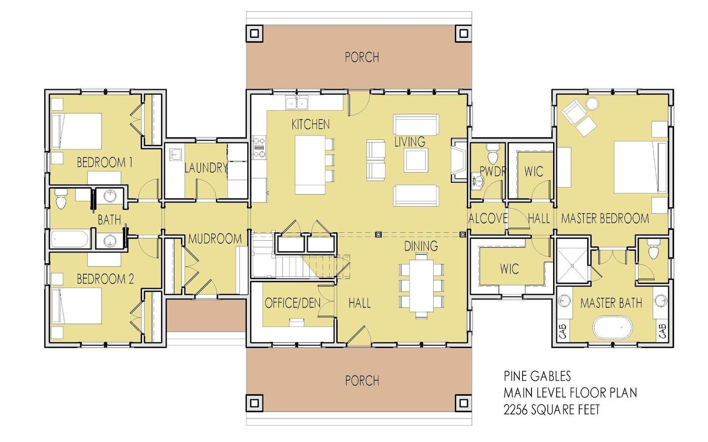 2 master suite house plans