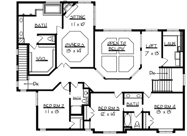 dramatic two story great room 73321hs