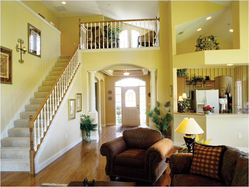 two story great room house plans