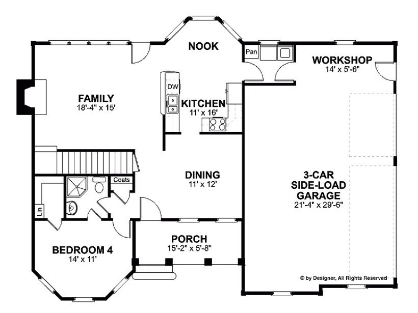 two story house plans under 2000 sq ft