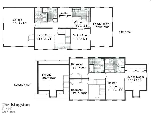 two story open concept house plans
