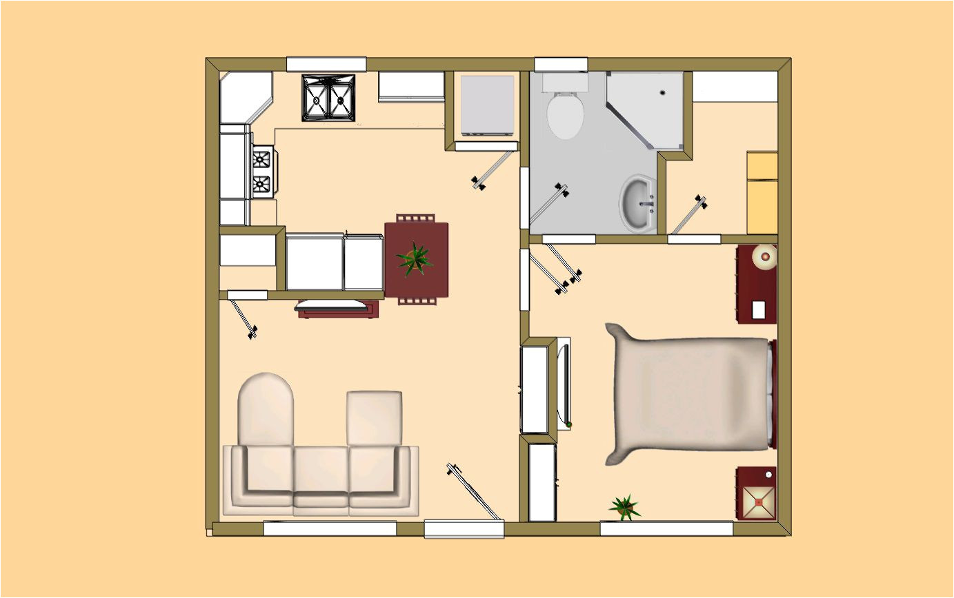 small house plans under 200 sq ft