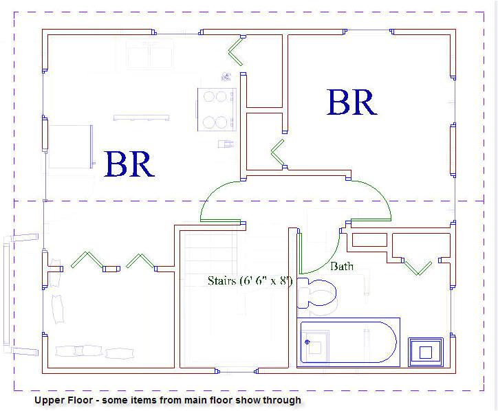 20 x 20 house floor plans