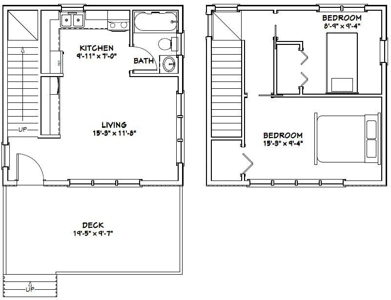 20×20 Home Plans 20×20 House Plans Garden Home Tiny House Ideas