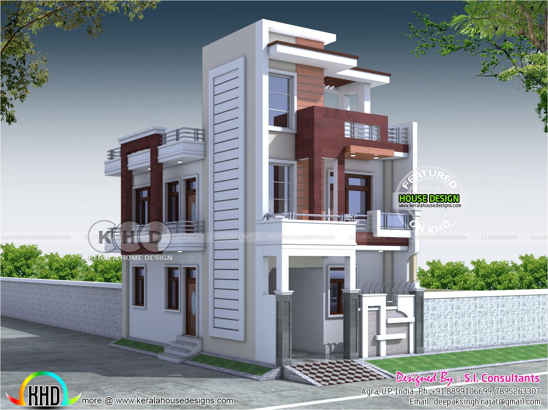 20x40 contemporary indian home design