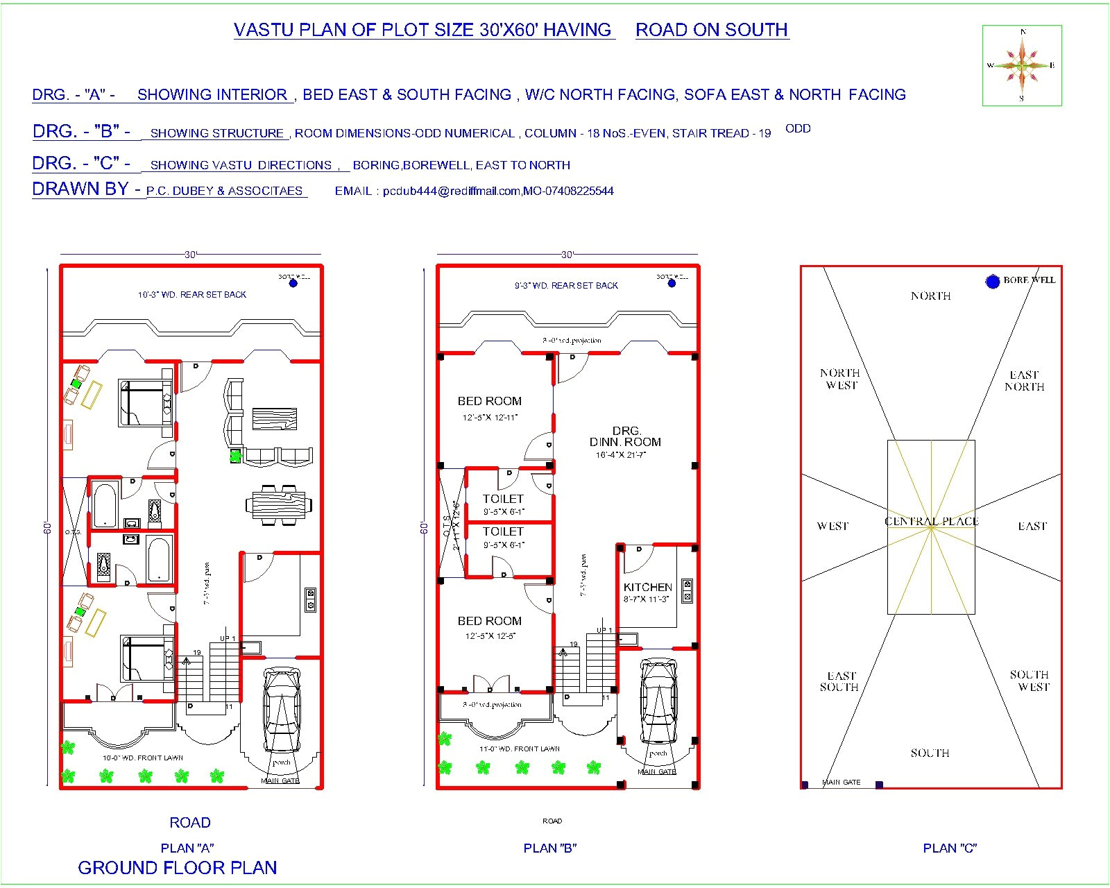 south facing plot east facing house plan fresh 19 lovely house plan for 20x40 site