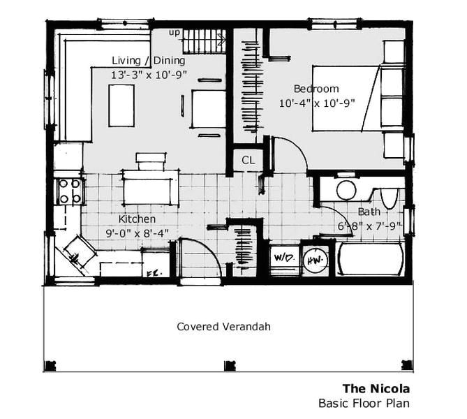 25 foot wide house plans
