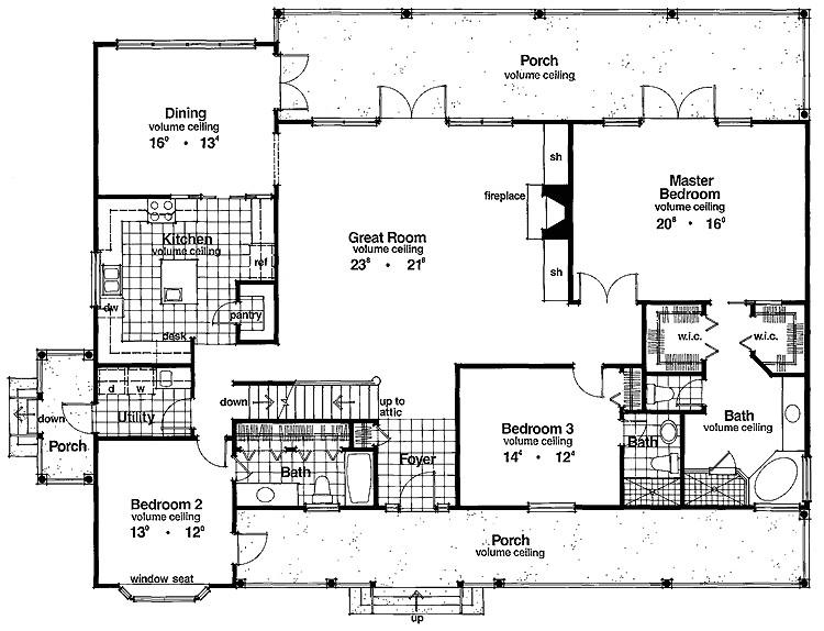 floor plans for 2500 square feet