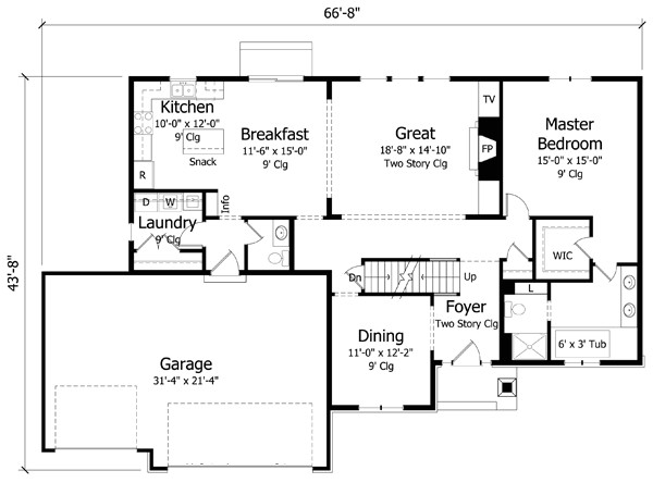 2500 sq ft home 2 story 4 bedroom 2 bath house plans plan38 345