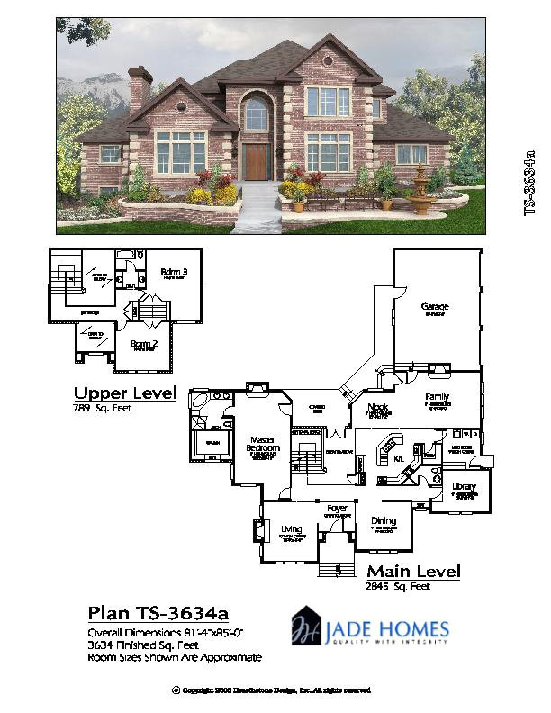 two story over 2500 sq ft