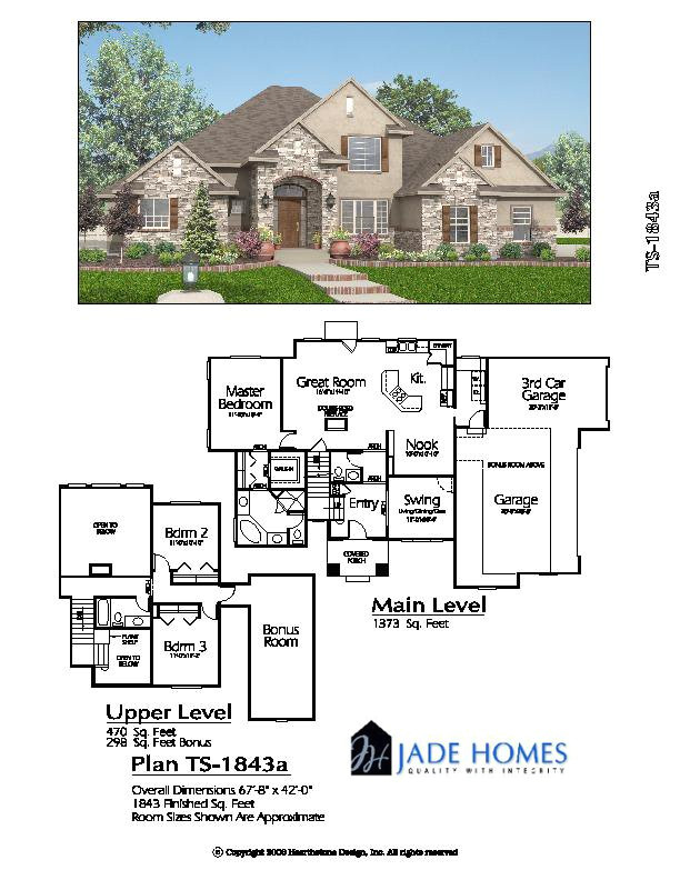 two story under 2500 sq ft