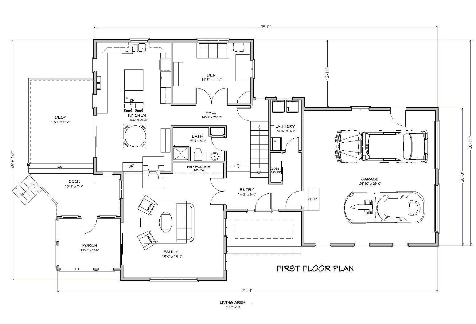 2500 sqft 4 bedroom house plans