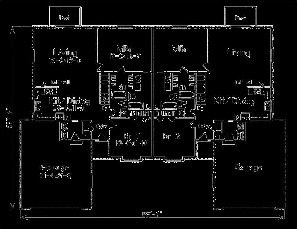 2800 square feet 2 bedrooms 2 bathroom ranch house plans 2 garage 35550