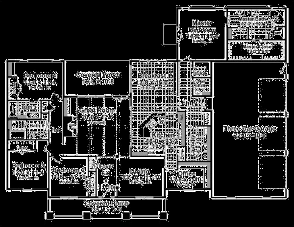 2800 Square Foot House Plans Craftsman Style House Plan 4 Beds 3 50 Baths 2800 Sq Ft