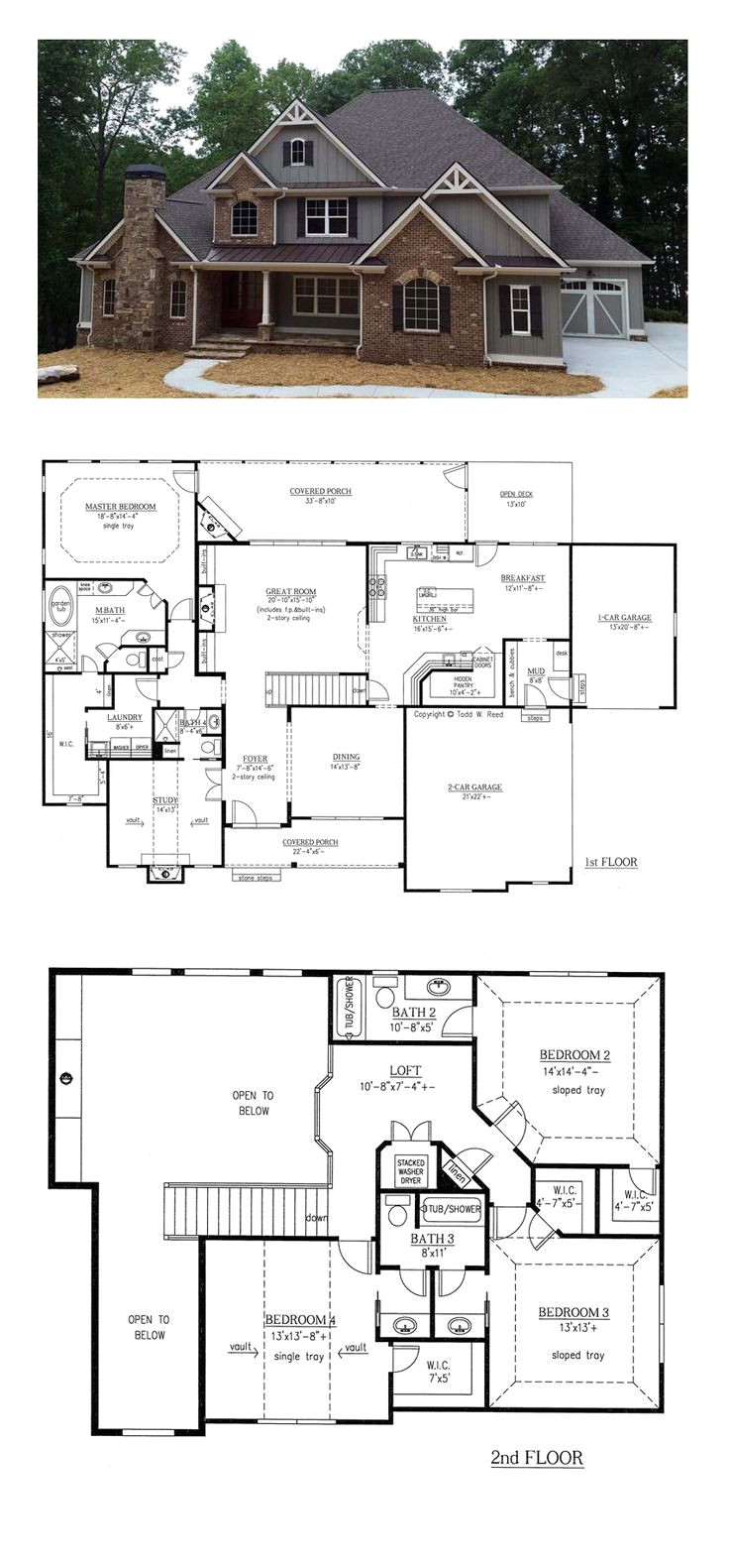 french country house plans 2800 square feet