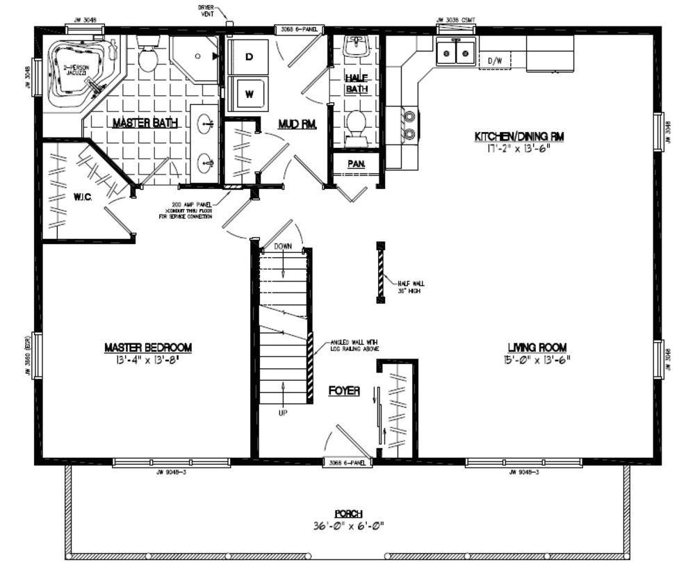 28x40 house plans