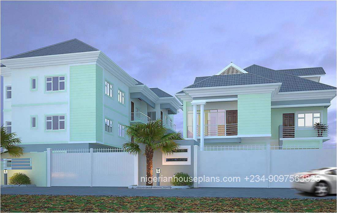 5 bedroom duplex2 3 bedroom block of flats