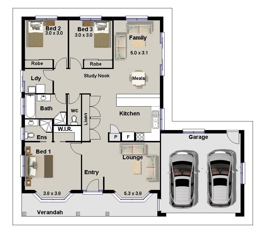 3 bedrooms house plans designs luxury awesome 3 bedroom home plans designs decorating design