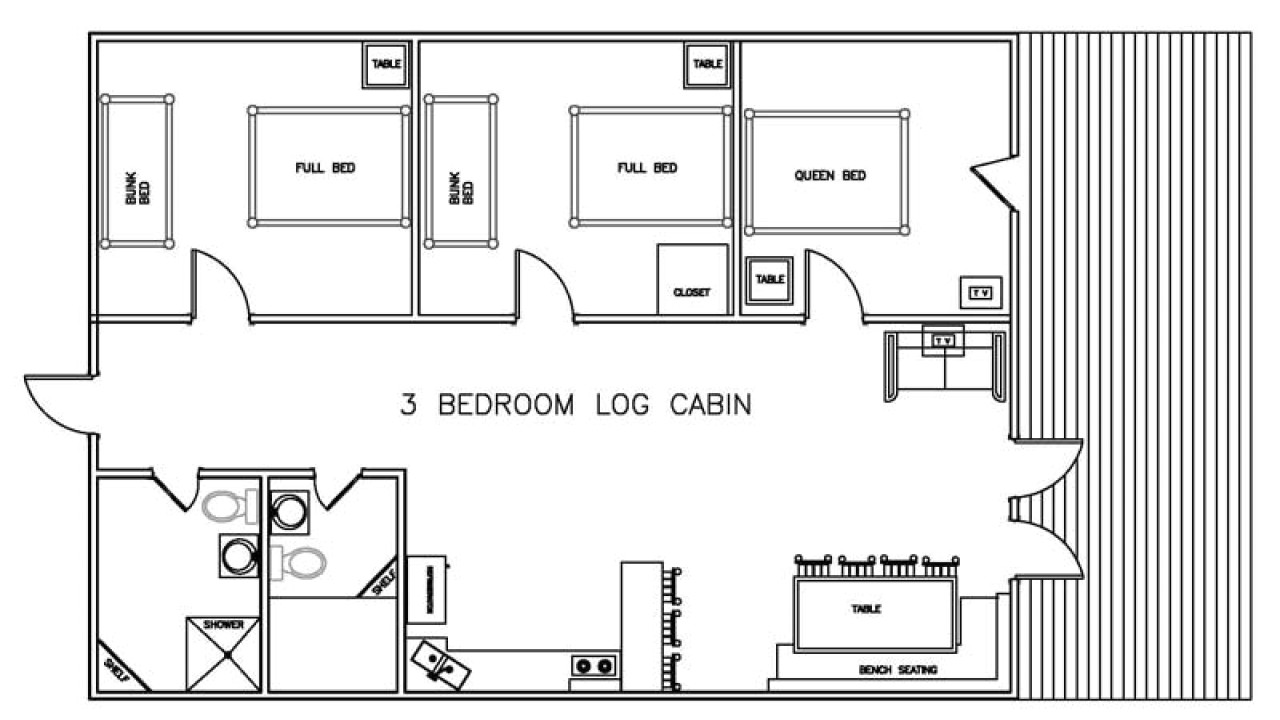 4fde8a4abe479f81 3 bedroom log cabin floor plans bellows afb 1 bedroom cabins