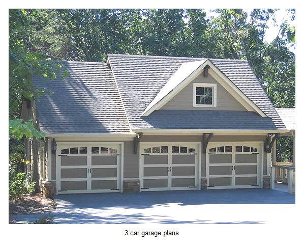 14 ideas 3 car garage plans with loft