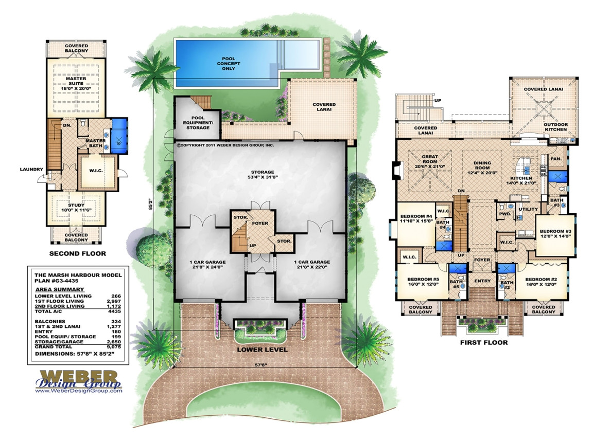 2f0b5166f1cb8fcd 3 story beach house plans 3 story house with pool