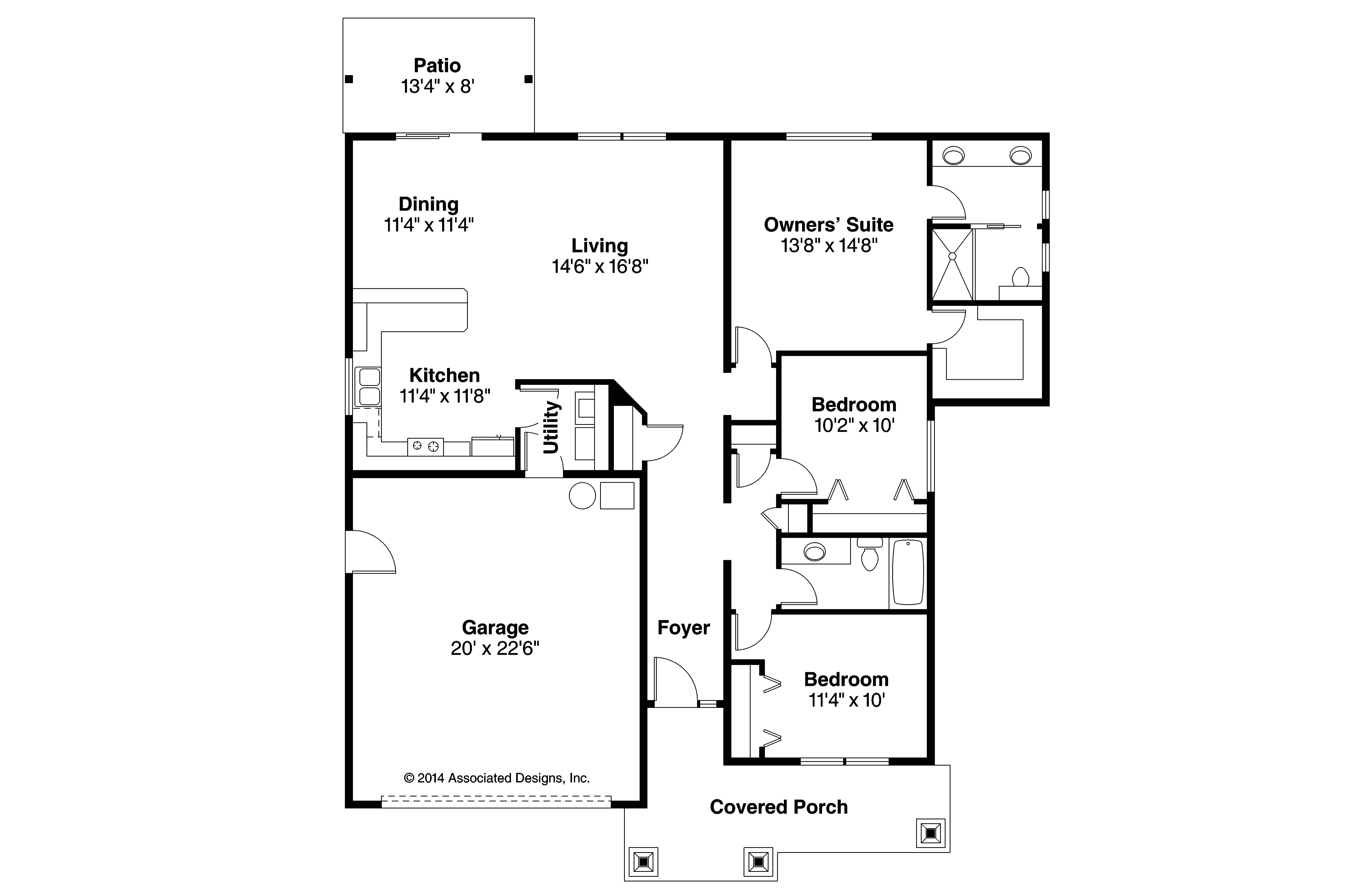 bungalow craftsman house plans 3000 square feet