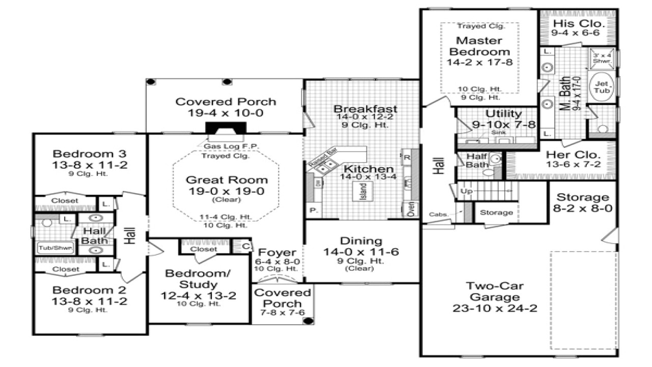 f1c778d35ccfc28c 3000 sq ft house 3000 sq ft ranch house plans