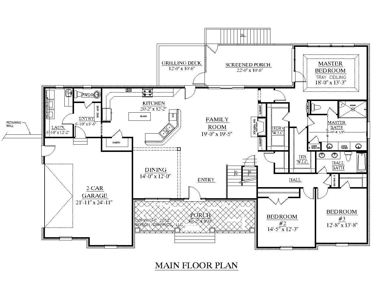 30000 sq ft house floor plan