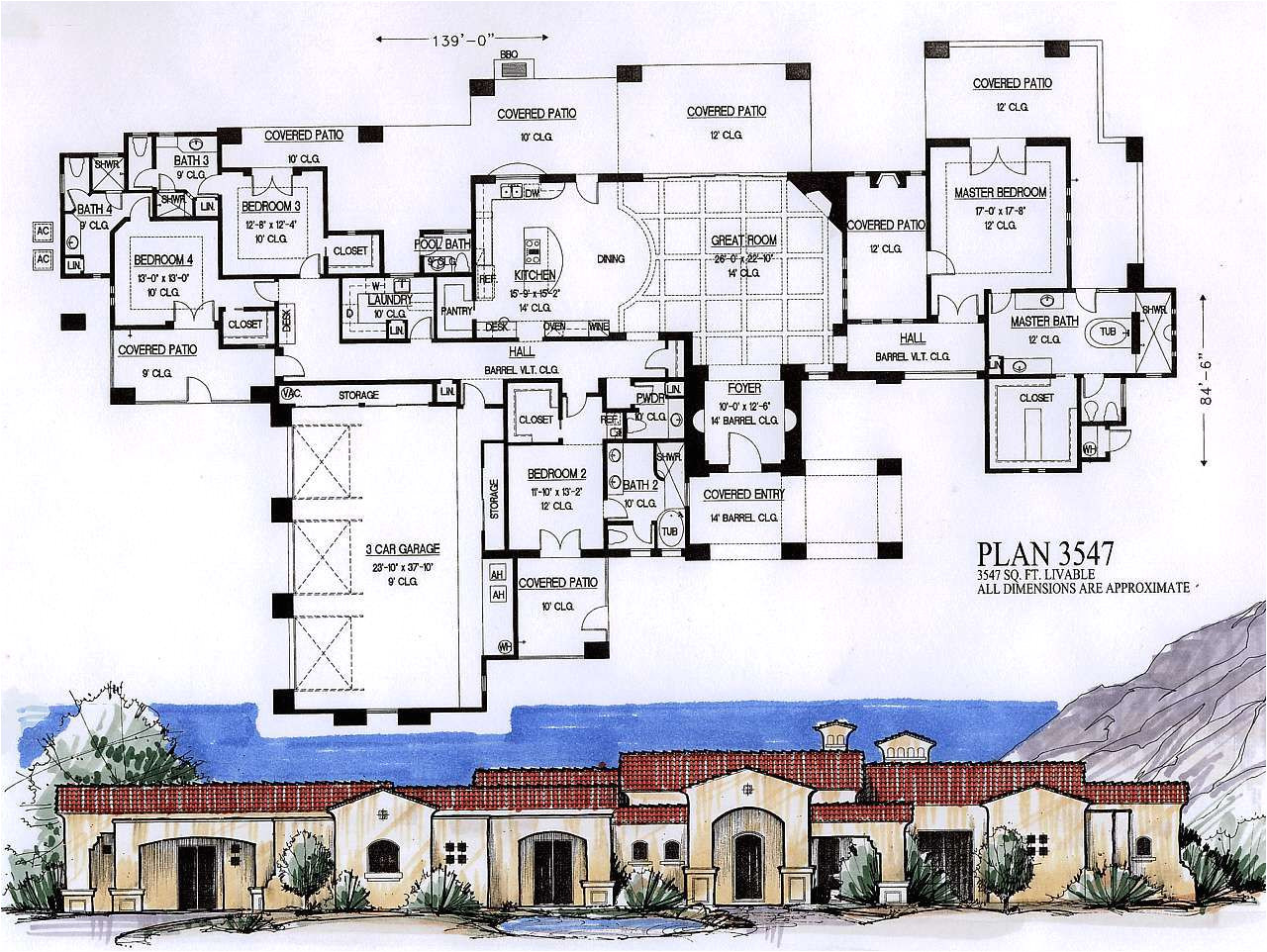 3500 square foot house plans