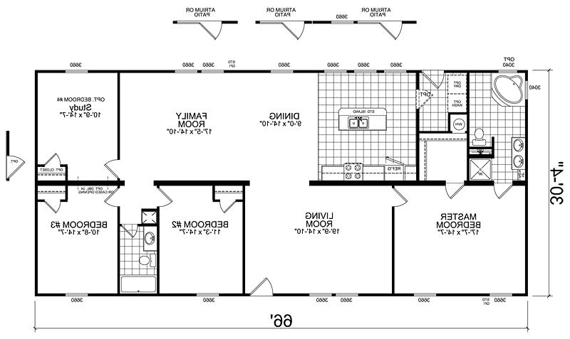 manufactured homes floor plans photos