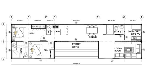 container home layout plans