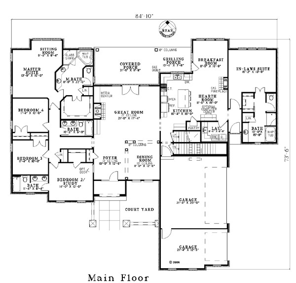 house plan 82117 craftsman luxury plan with 3003 sq ft 5 bedrooms 4 bathrooms 3 car garage at family home plans