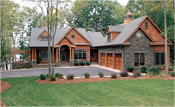 house plan 85480 cottage craftsman plan with 4304 sq ft 4 bedrooms 5 bathrooms 3 car garage