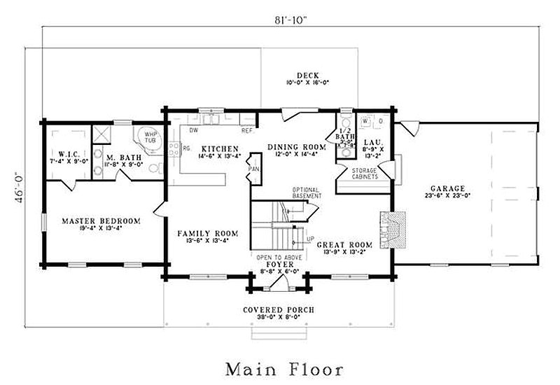 234 plan 110 00921 5 bedroom 3 5 bath