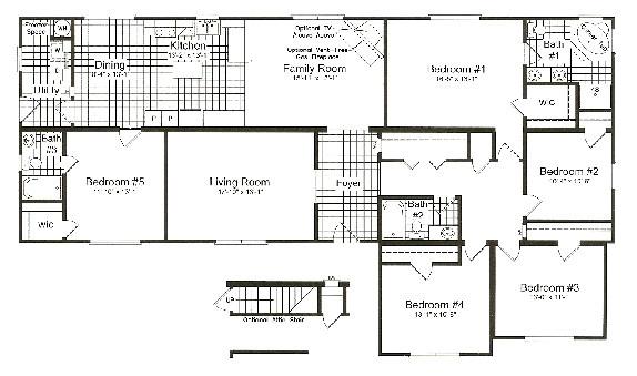 5 bedroom prefabricated homes