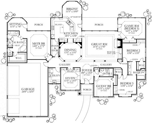 home plan 7023