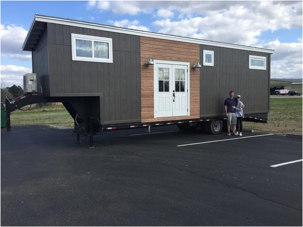 fifth wheel tiny house rv designed by a young couple