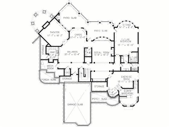6 bedroom victorian house plans