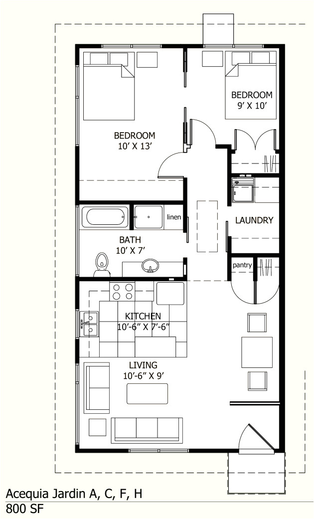 house plans under 800 sq ft
