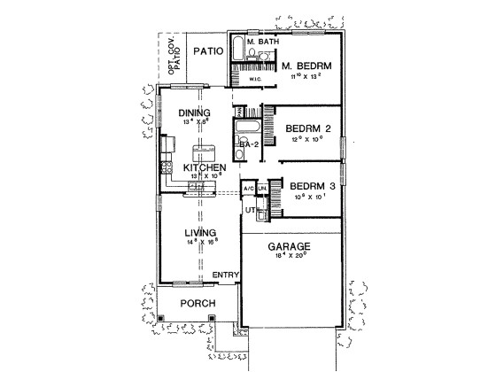 blueprint for house in 800 sq ft