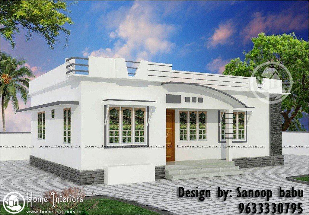 800 sqft modern style home design 10 5 lakh