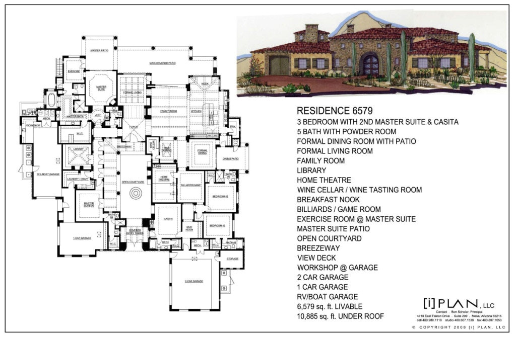 house plans over 8000 sq ft