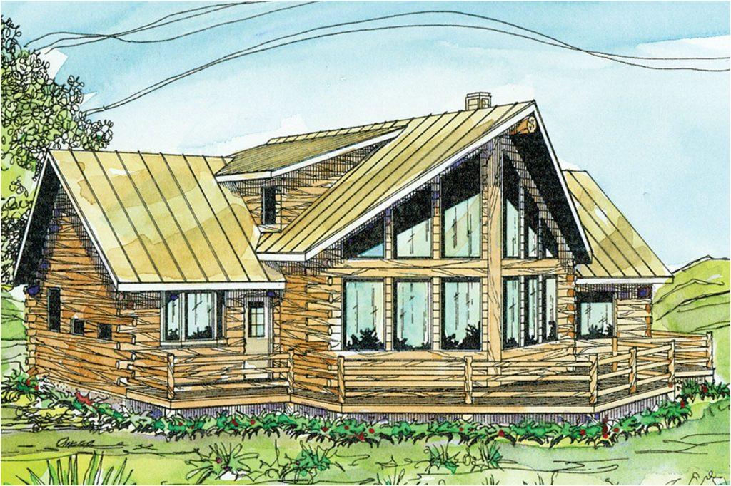 a frame log cabin floor plans