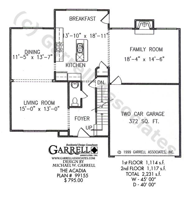 acadia house plan